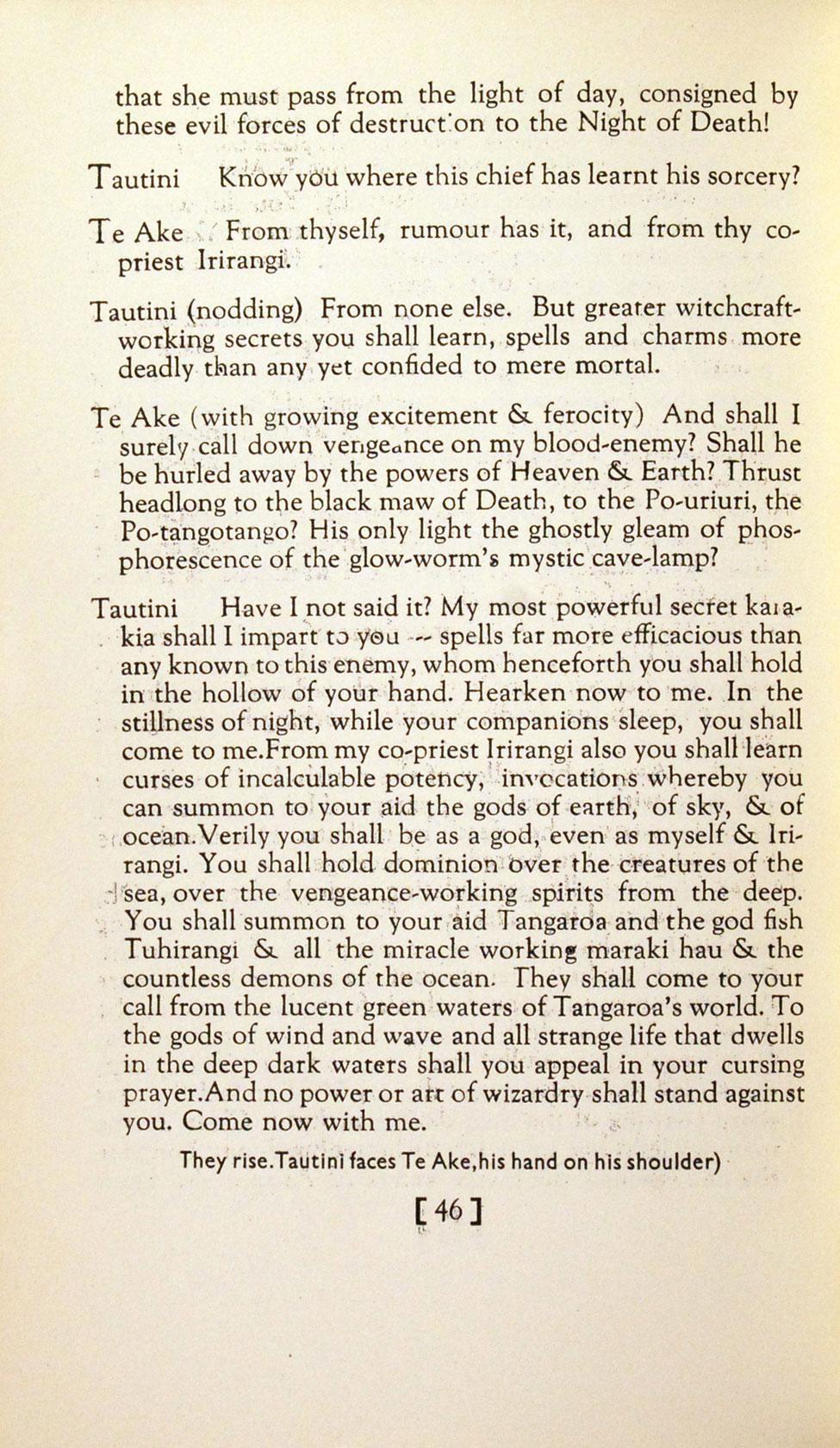 Janet McLeod. <i>Little Plays from Maori Legend. Christchurch: The Caxton Club Press, [1933].</i>