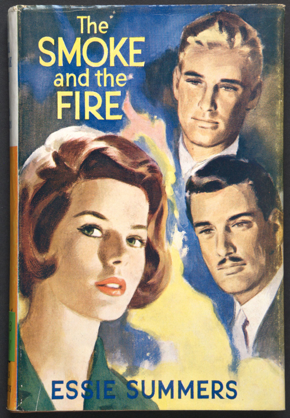 Essie Summers. <em>The smoke and the fire</em>. London: Mills & Boon, 1964.