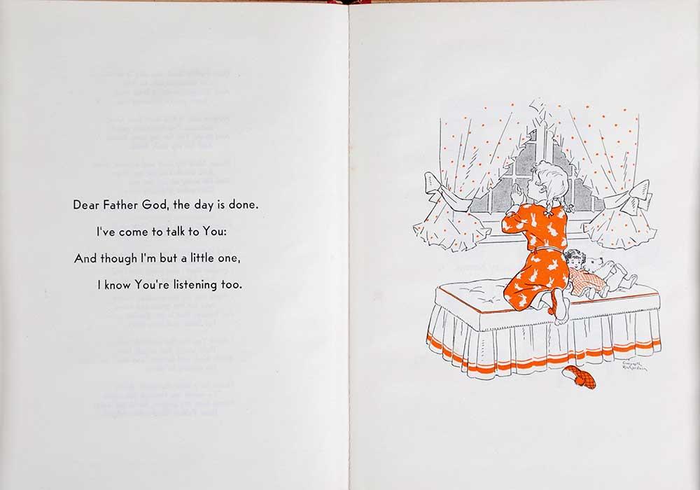 Ann Allan. <em>A child's prayer.</em> Illustrated by Gwyneth Richardson. Wellington: A.H. & A.W. Reed, [1944]