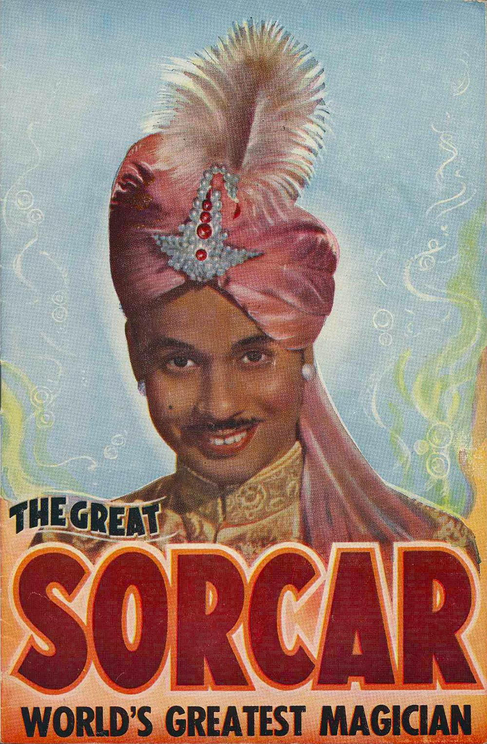 <em>The Great Sorcar: world's greatest magician</em>. (J.C. Williamson Theatres Ltd.). His Majesty's Theatre, Dunedin, 1957.