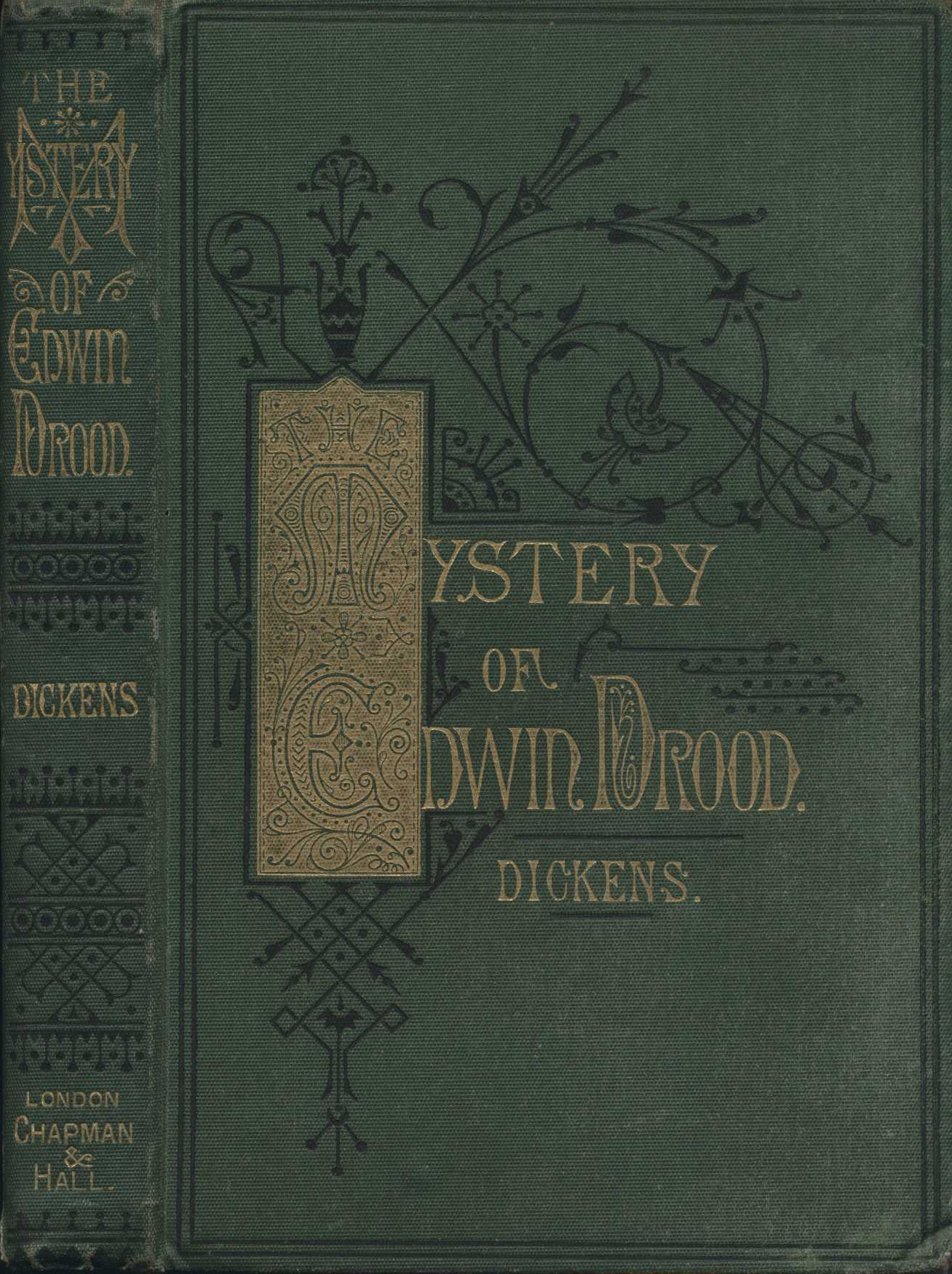 Charles Dickens. The mystery of Edwin Drood. London: Chapman & Hall, 1870.