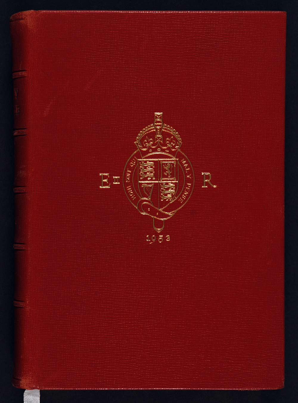 Coronation Bible. The Holy Bible containing the Old and New Testaments … Oxford: At the University Press, [1953].