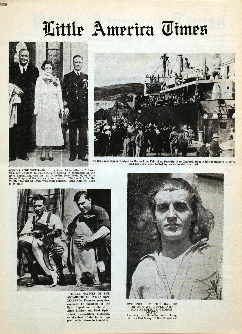 <i>Little America Times</i>. New York: August Horowitz, 28 February 1935.