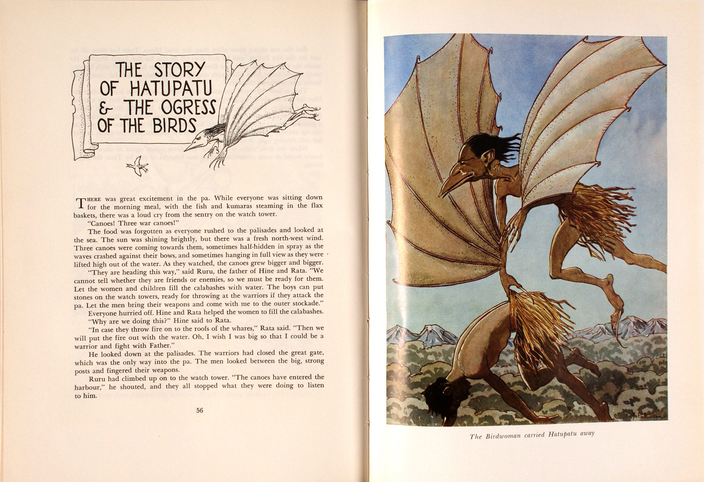 A. W. Reed. Maori Tales of Long Ago … Illustrated by A. S. Paterson. Wellington: A. H. & A. W. Reed, [1957].