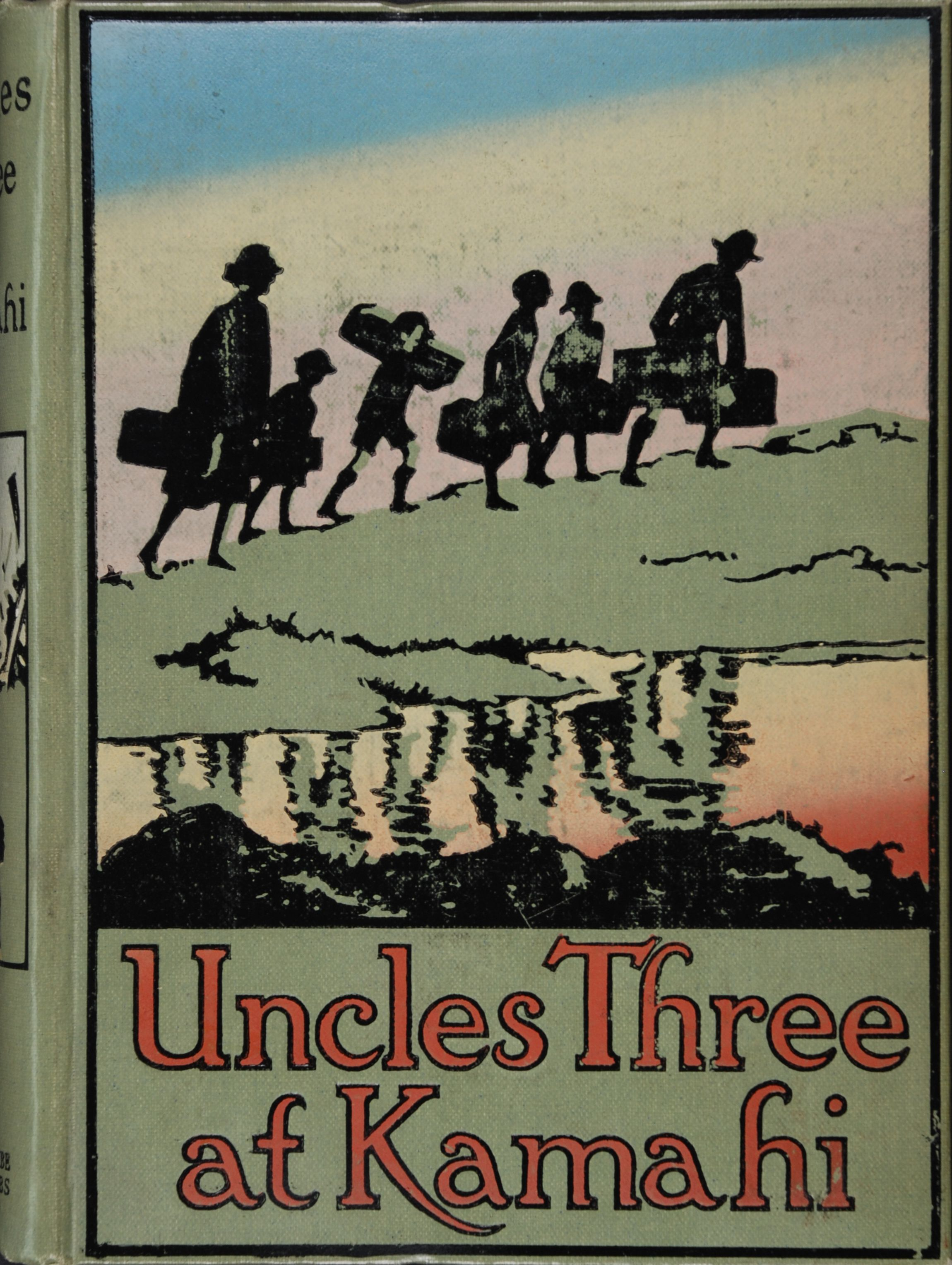 Esther Glen.  Uncles Three at Kamahi.  Auckland: Whitcombe and Tombs Ltd., [1926]