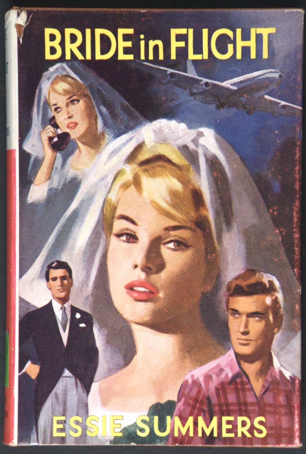 Essie Summers. <em>Bride in flight</em>. London: Mills & Boon, 1964.