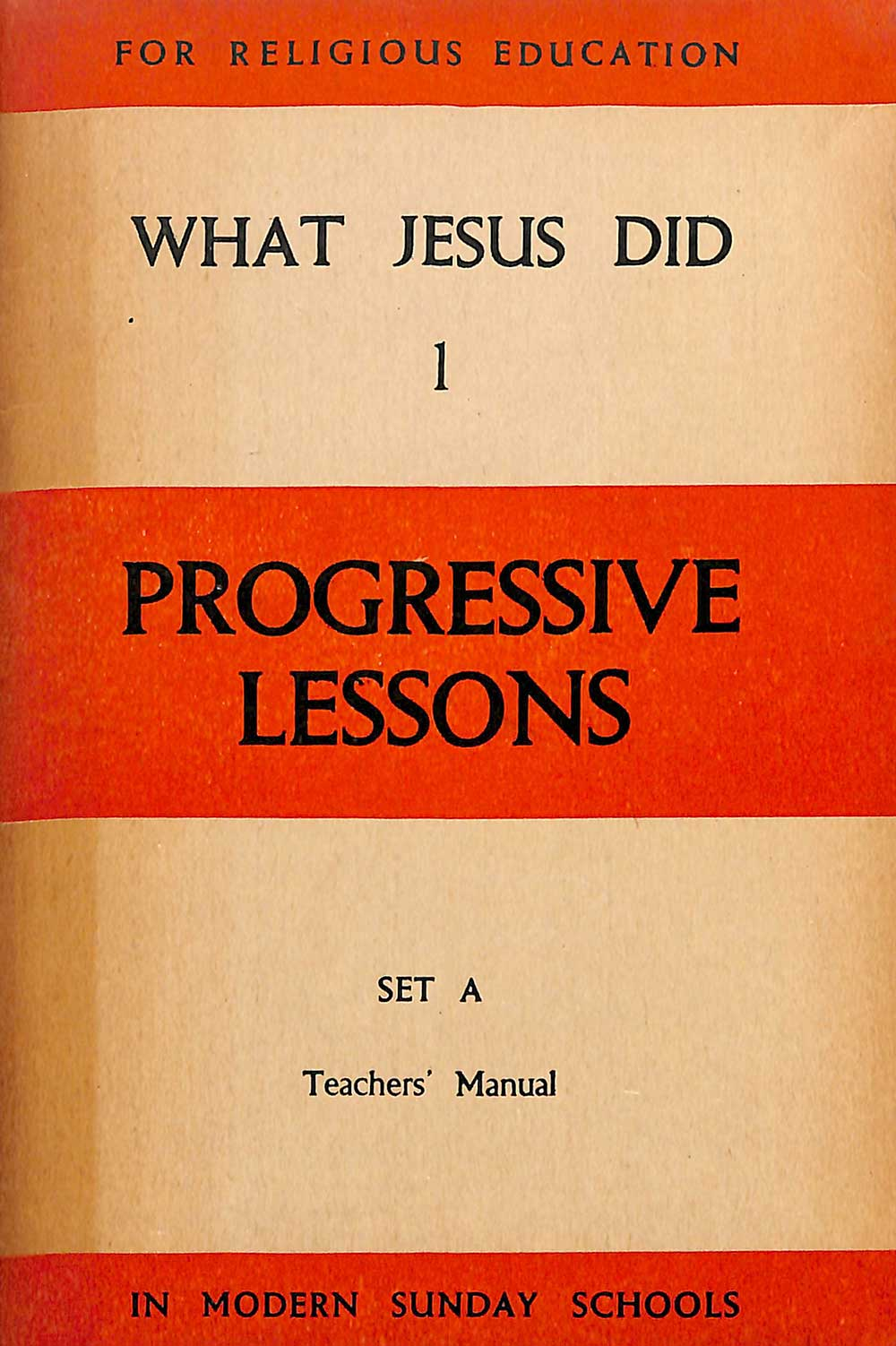 A.W. Reed (editor). <em>Progressive Sunday school lessons: What Jesus did, 1.</em> Wellington: A.H. & A.W. Reed, 1948.