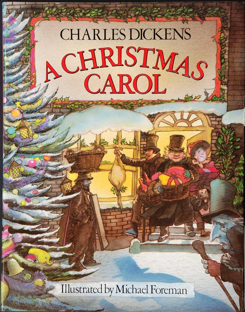 Charles Dickens. <em>A Christmas carol.</em> Illustrated by Michael Foreman. London: Victor Gollancz, 1983.