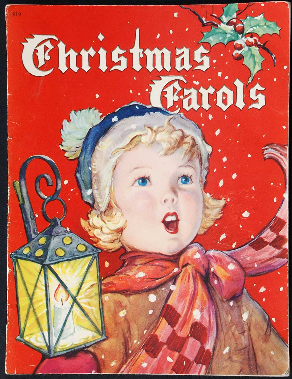 Karl Schulte (editor). <em>Christmas carols.</em> Illustrated by F.D. Lohman. Dunedin: Charles Begg & Co., 1942.