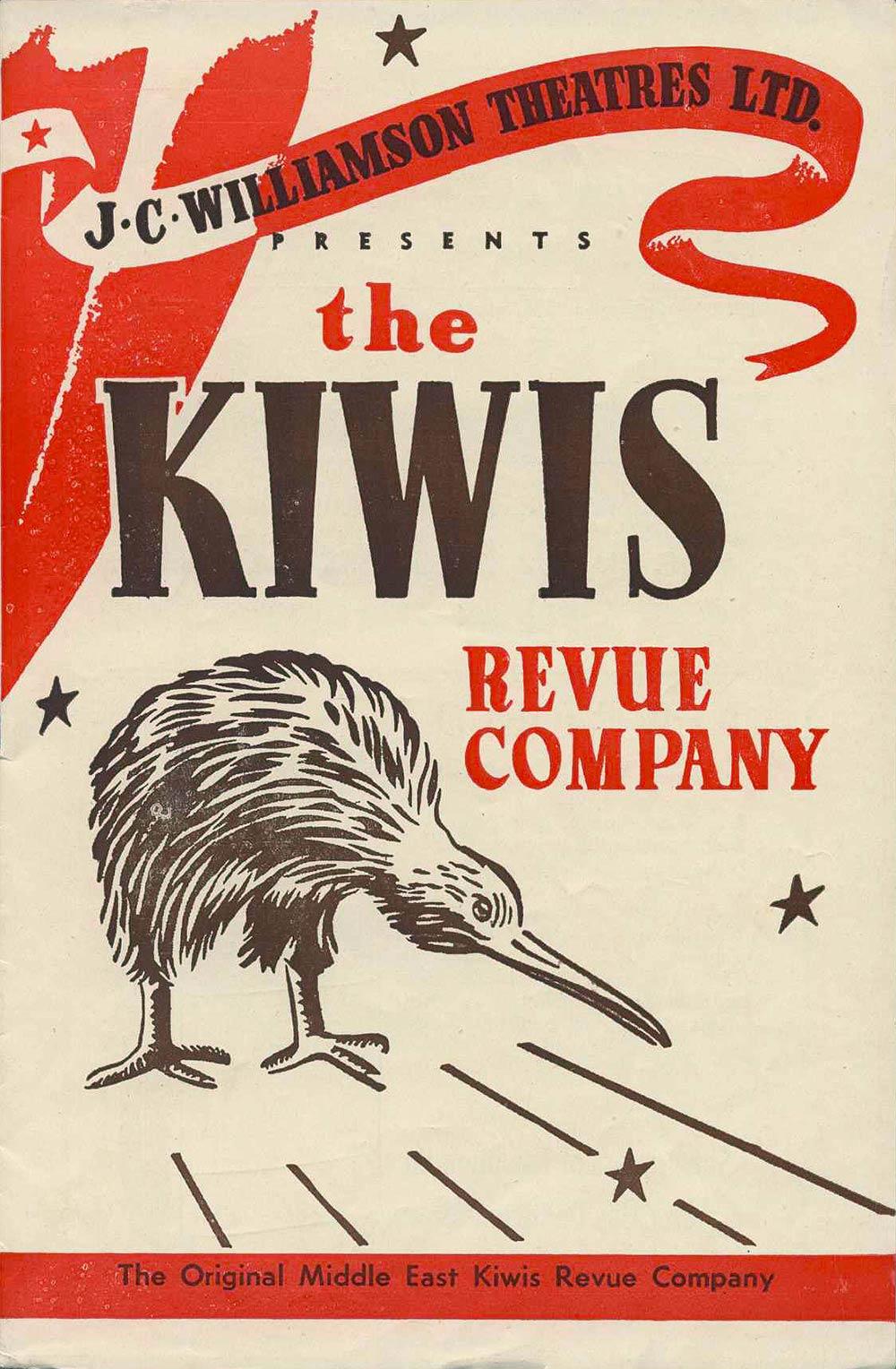 <em>The Kiwis Revue Company</em>. (J.C. Williamson Theatres Ltd.). His Majesty's Theatre, Dunedin, Nov. 7, 1953.