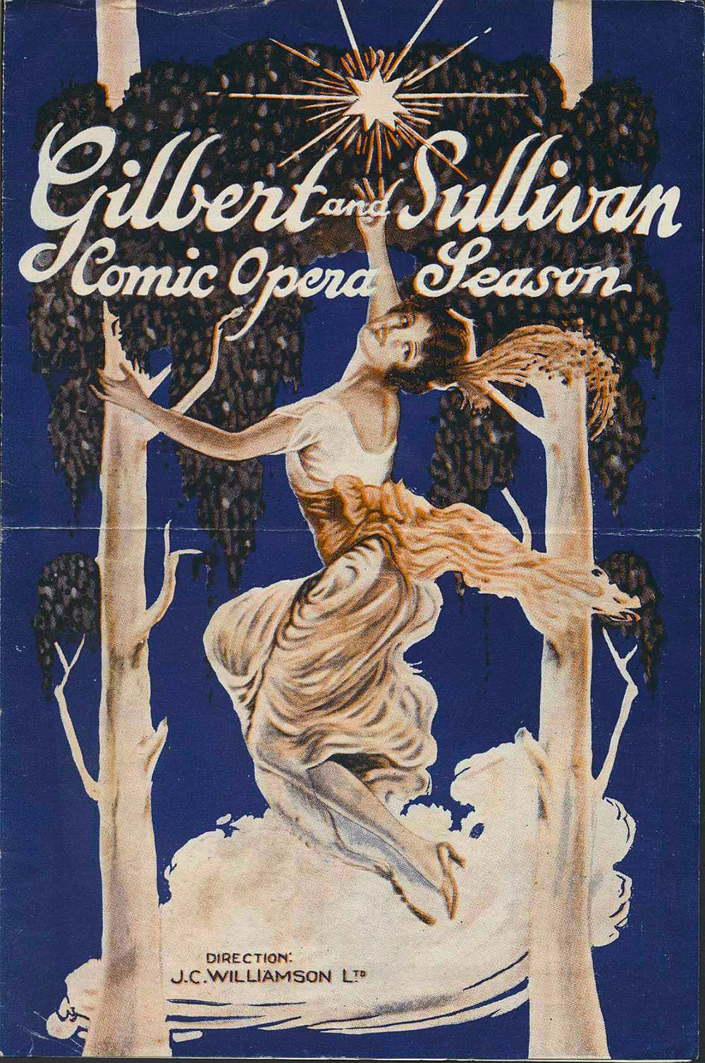 <em>Gilbert and Sullivan Comic Opera Season</em>. (J.C. Williamson Ltd.). 1927.