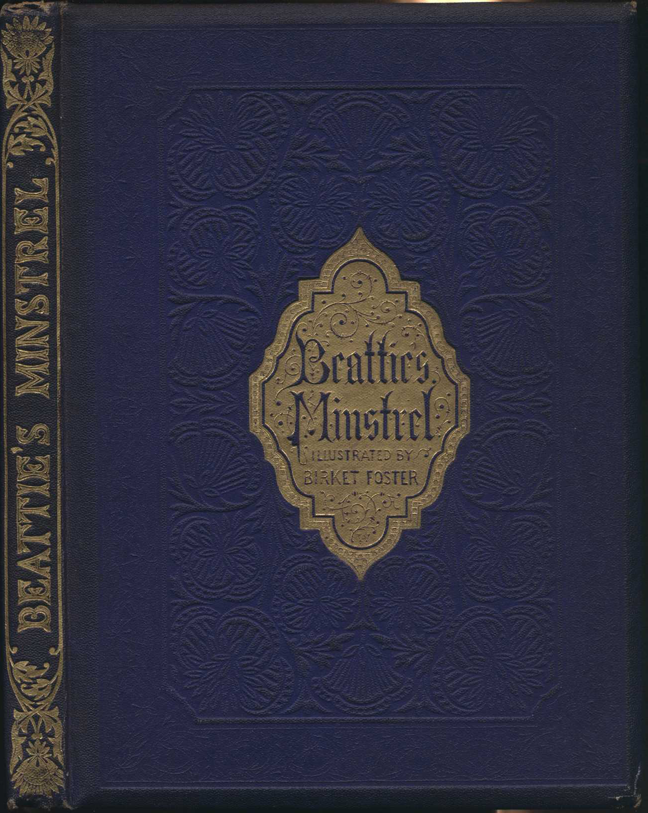 James Beattie. The minstrel. London and New York: G. Routledge, 1858.