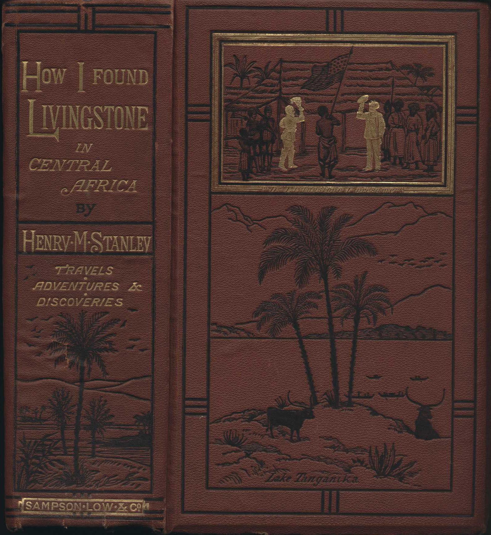 Henry M. Stanley. How I found Livingstone: travels, adventures, and discoveries in Central Africa, including four months' residence with Dr. Livingstone. 2nd edition. London: S. Low, Marston, Low, and Searle, 1872.