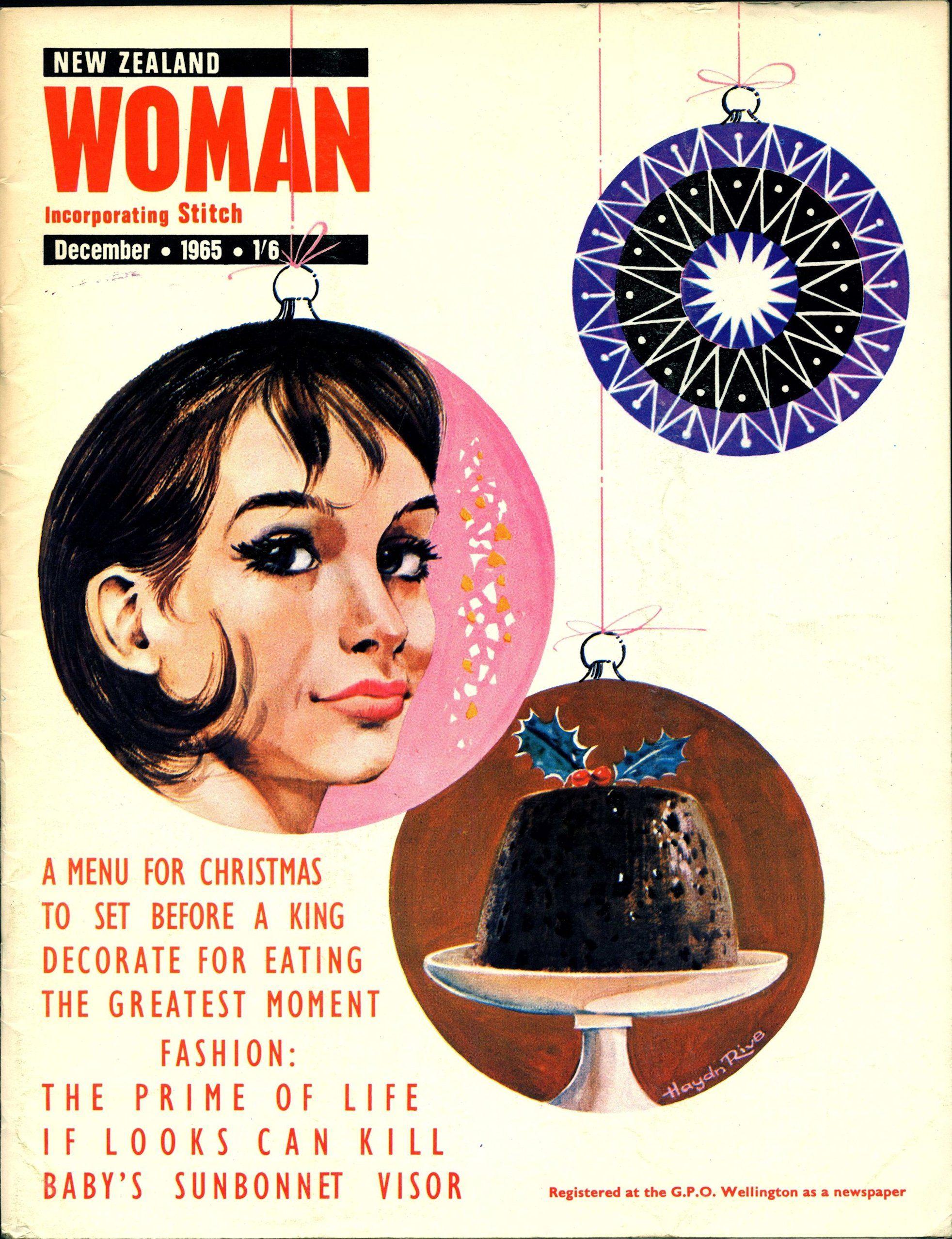 New Zealand Woman. December 1965.