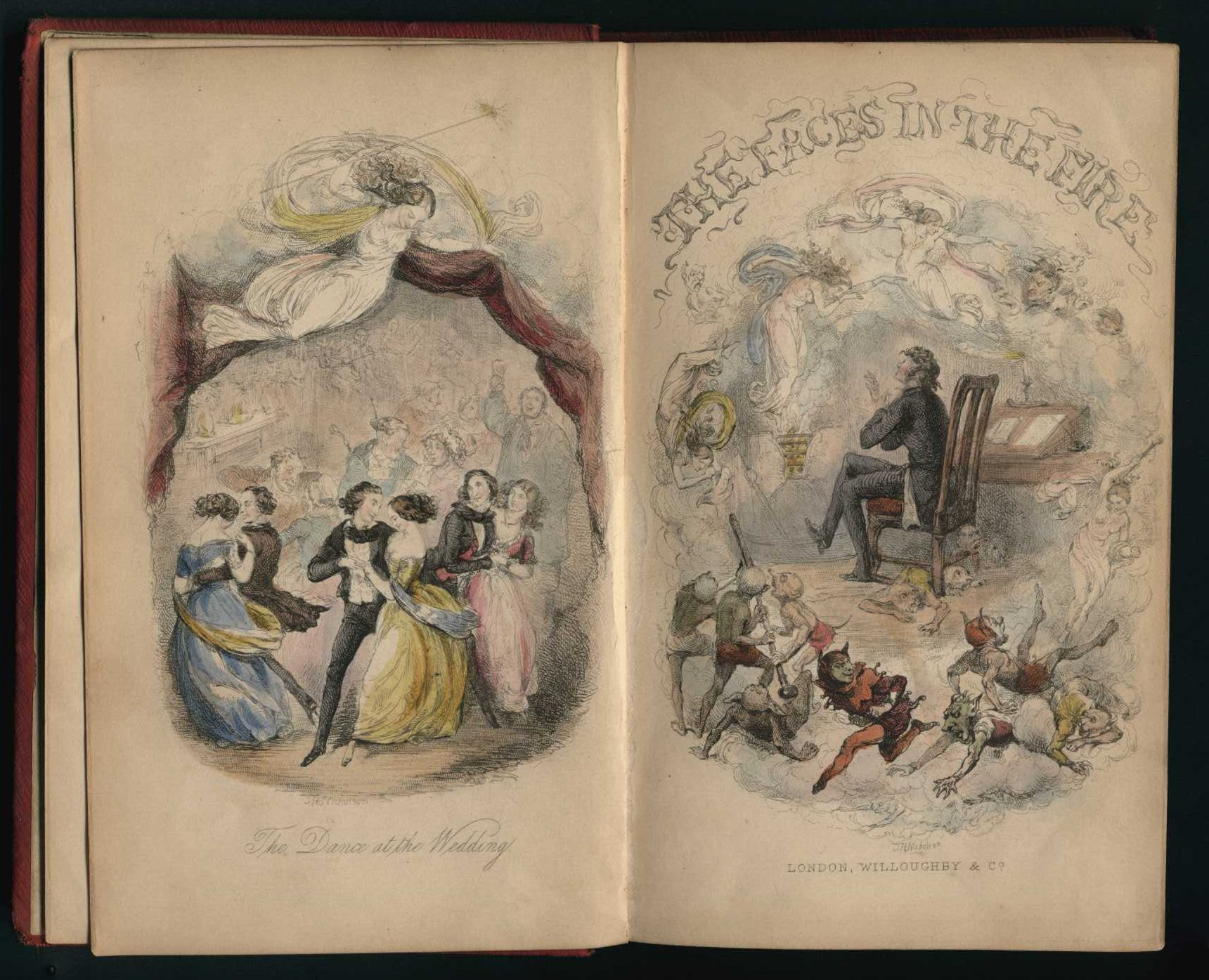 George Frederick Pardon. The faces in the fire: a story for the season. London: Willoughby and Co., 1849.
