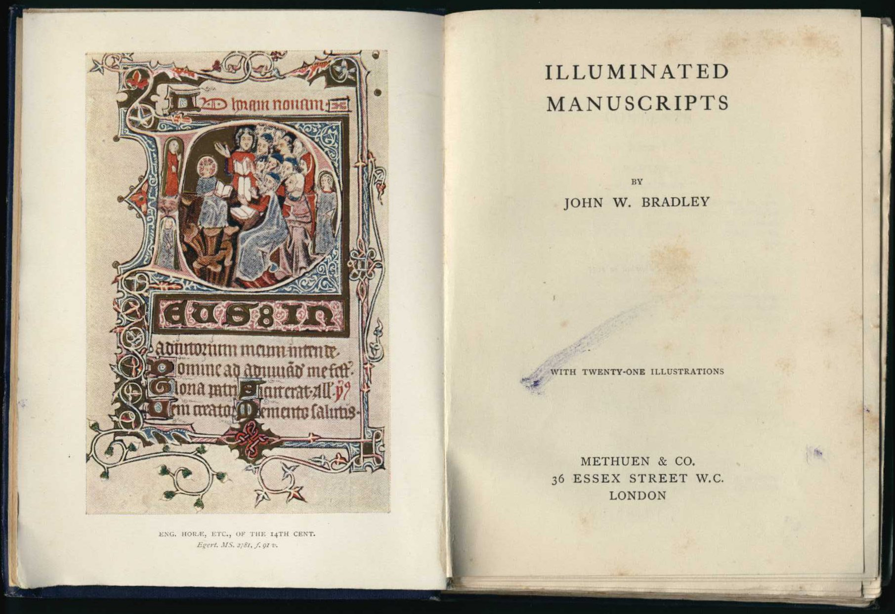 John W. Bradley. Illuminated manuscripts. London: Methuen, 1905.