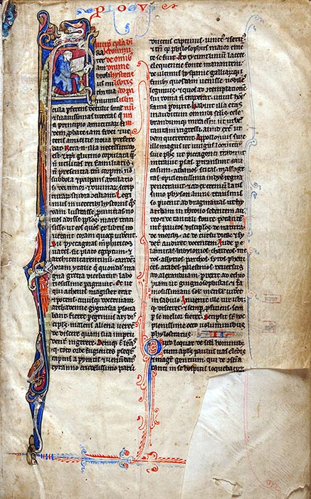 Bible, in Latin. Northern France (perhaps Paris), thirteenth century. Reed MS4b