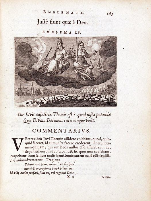 Florentius Schoonhovius. Emblemata … Partim moralia, partim etiam Civilia … Leiden: Ex officina Elzeviriana, 1626. RPRE 1626 Hol