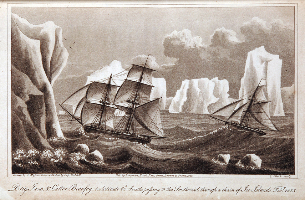 James Weddell. A Voyage Towards the South Pole, Performed in the Years 1822–24