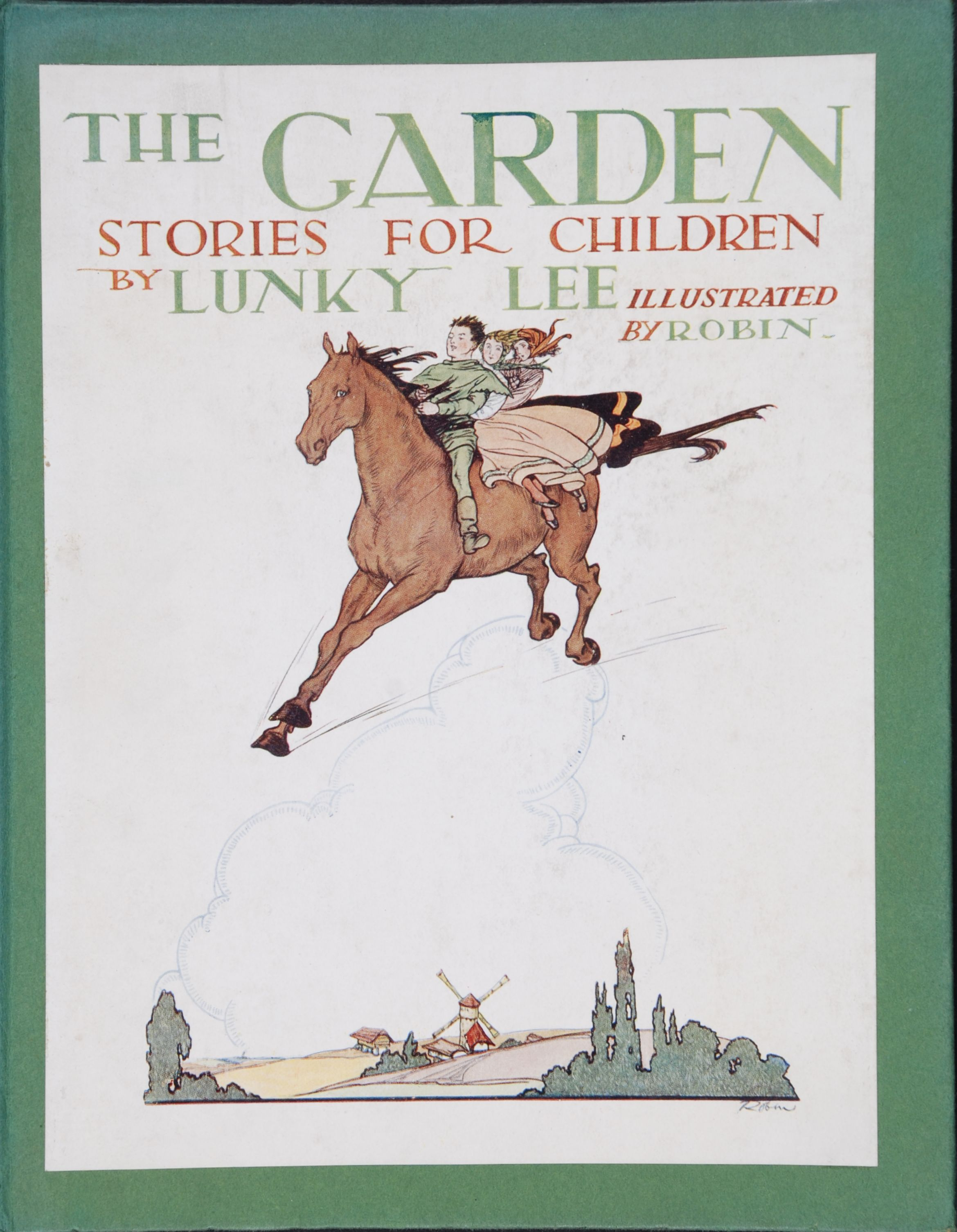 Lunky Lee. The Garden : stories for children. London: Sheed & Ward [1927].