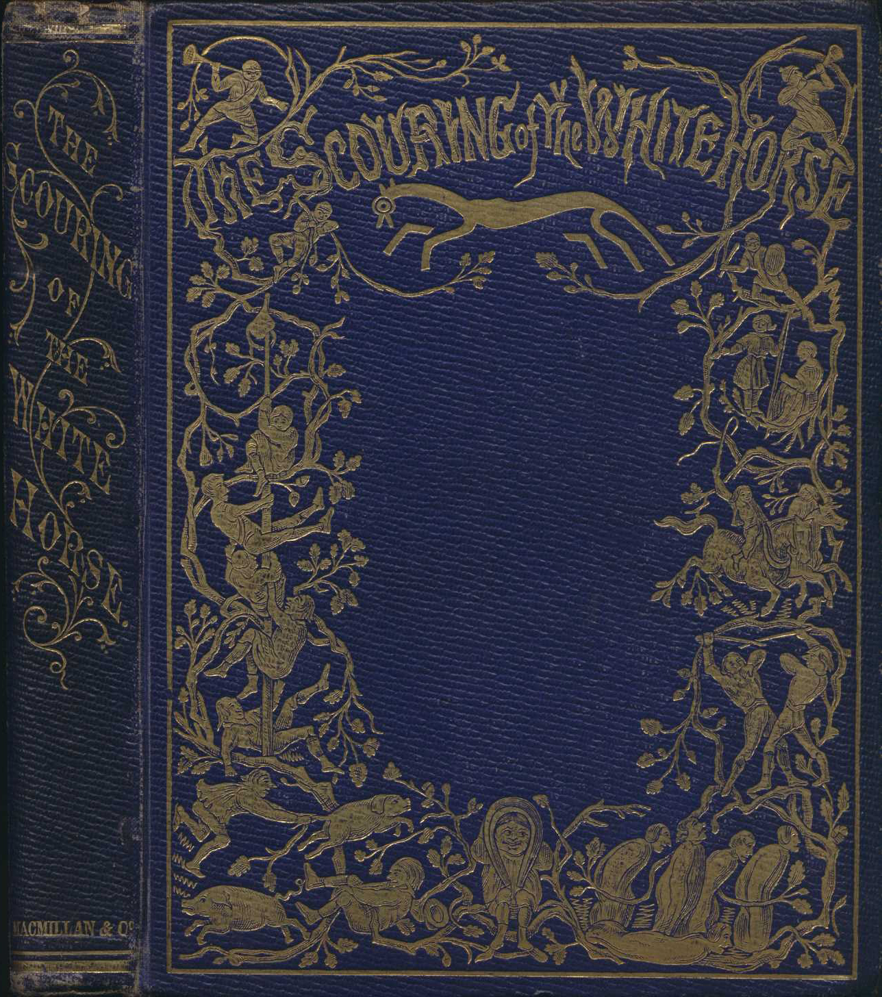 Thomas Hughes. The scouring of the White Horse, or, The long vacation ramble of a London clerk. Cambridge: Macmillan, 1859.