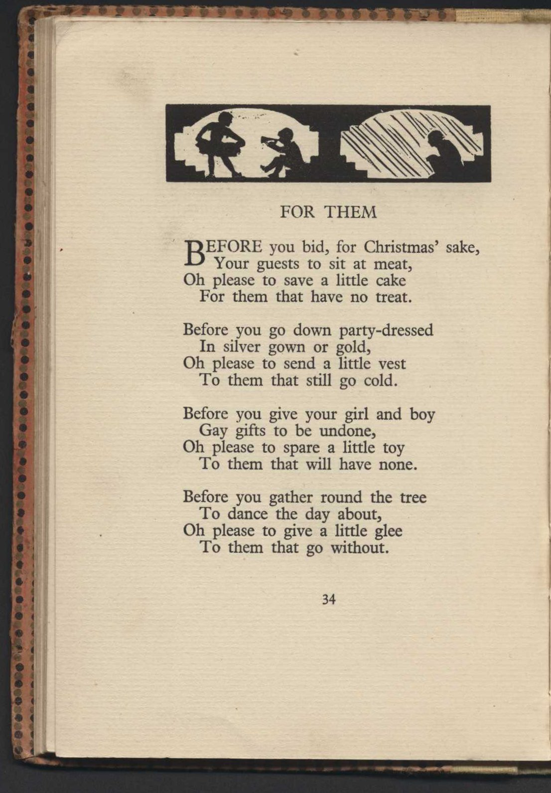 Eleanor Farjeon. Come Christmas. Illustrations by Molly McArthur.  London: W. Collins Sons & Co., Ltd., 1927.