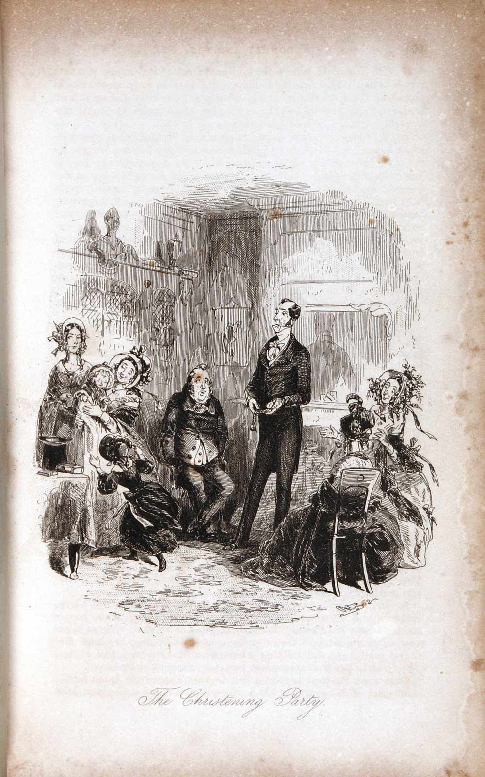 Dombey and Son … with Illustrations by H. K. Browne. London: Bradbury & Evans, 1848; first edition