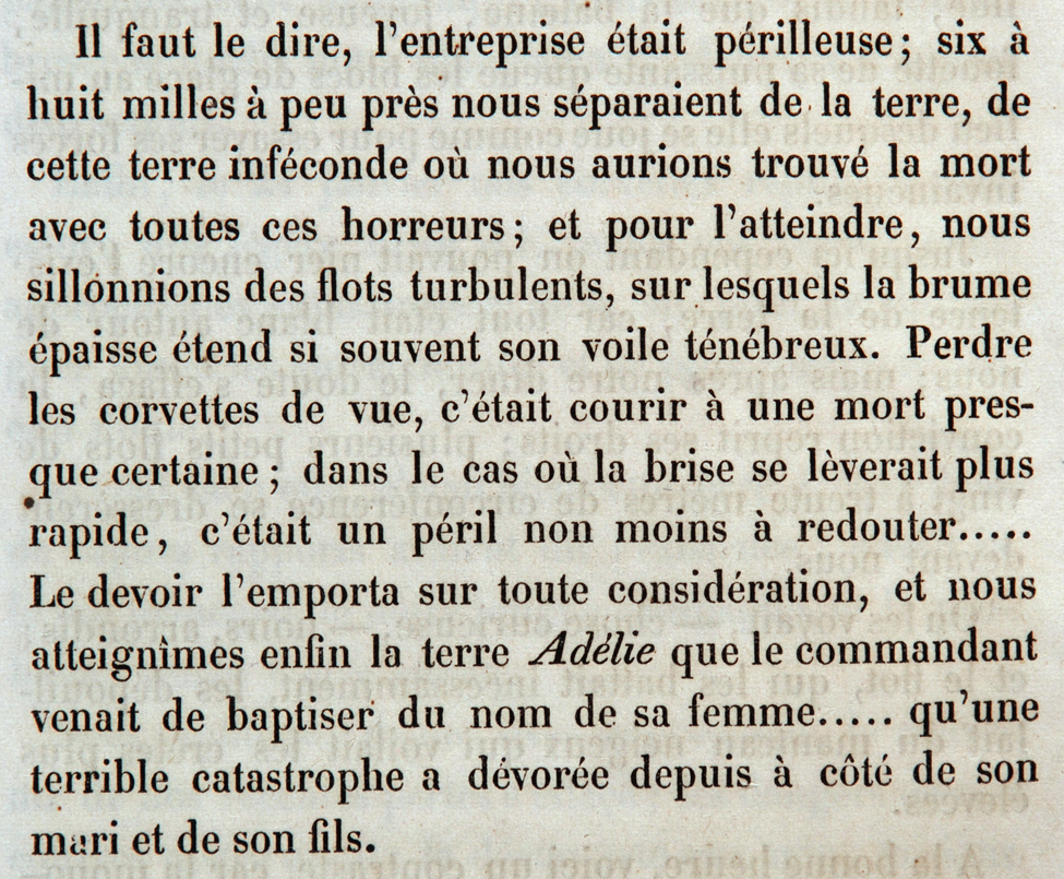 Elie Jean Francois le Guillou. Autour du Monde de l'Astrolabe et de la Zélée, sous les Ordres du Contre-Amiral Dumont-d'Urville. Paris: Berquet et Pétion, 1843.