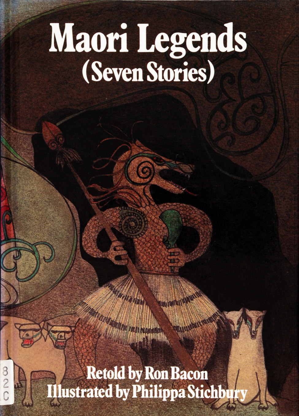 Joy Cowley (ed.). <i>Maori Legends (Seven Stories) Retold by Ron Bacon; Illustrated by Philippa Stichbury. </i> Auckland: Shortland Educational Publications, 1984.