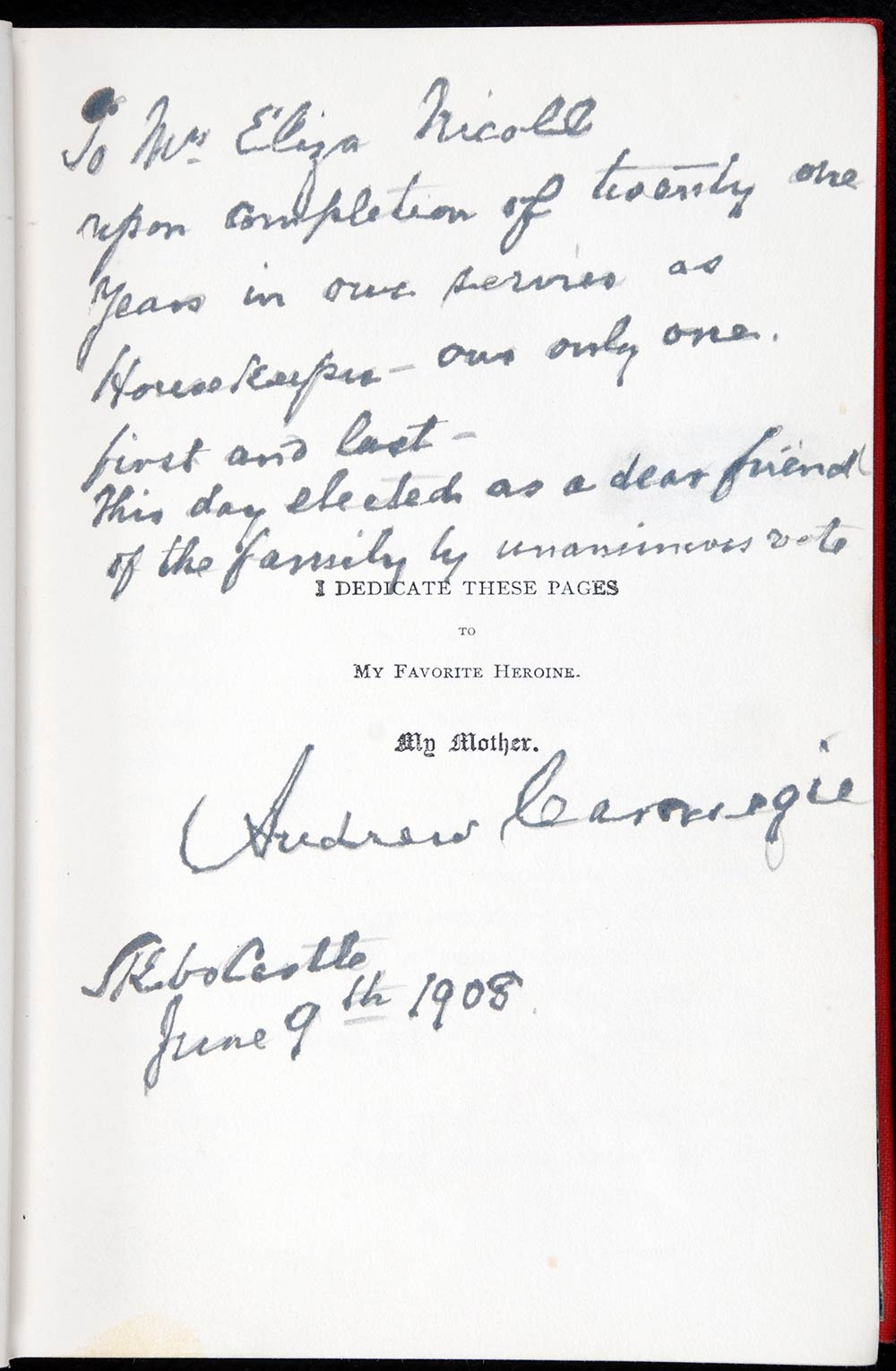 Andrew Carnegie. <em>An American four-in-hand in Britain</em>. New York: Charles Scribner's Sons, 1903.