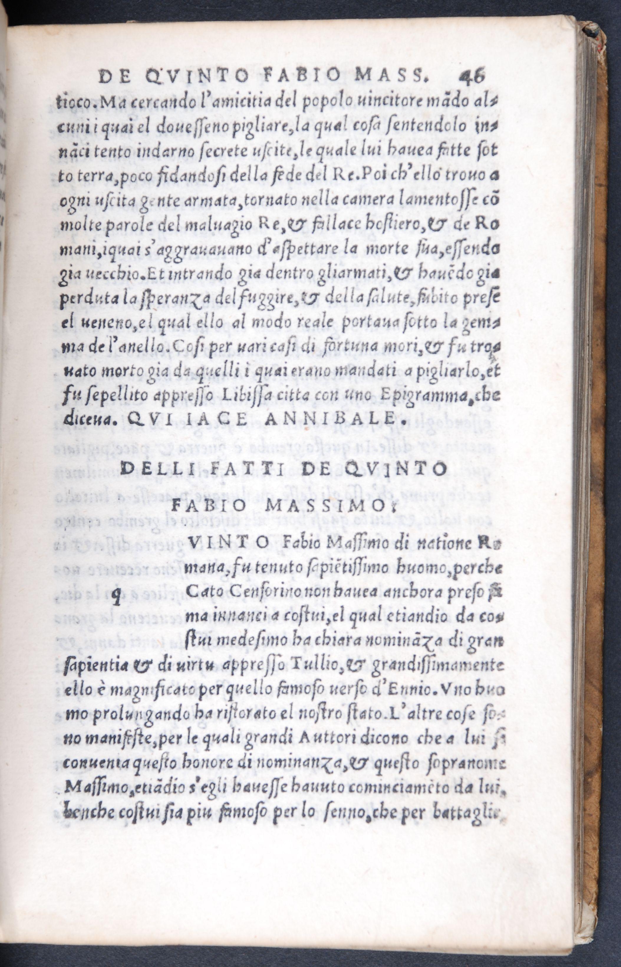 Francesco Petrarca. Le uite de glihuomini illustri. Stampate in Vineggia: Per Gregorio de Gregorii, 1527.