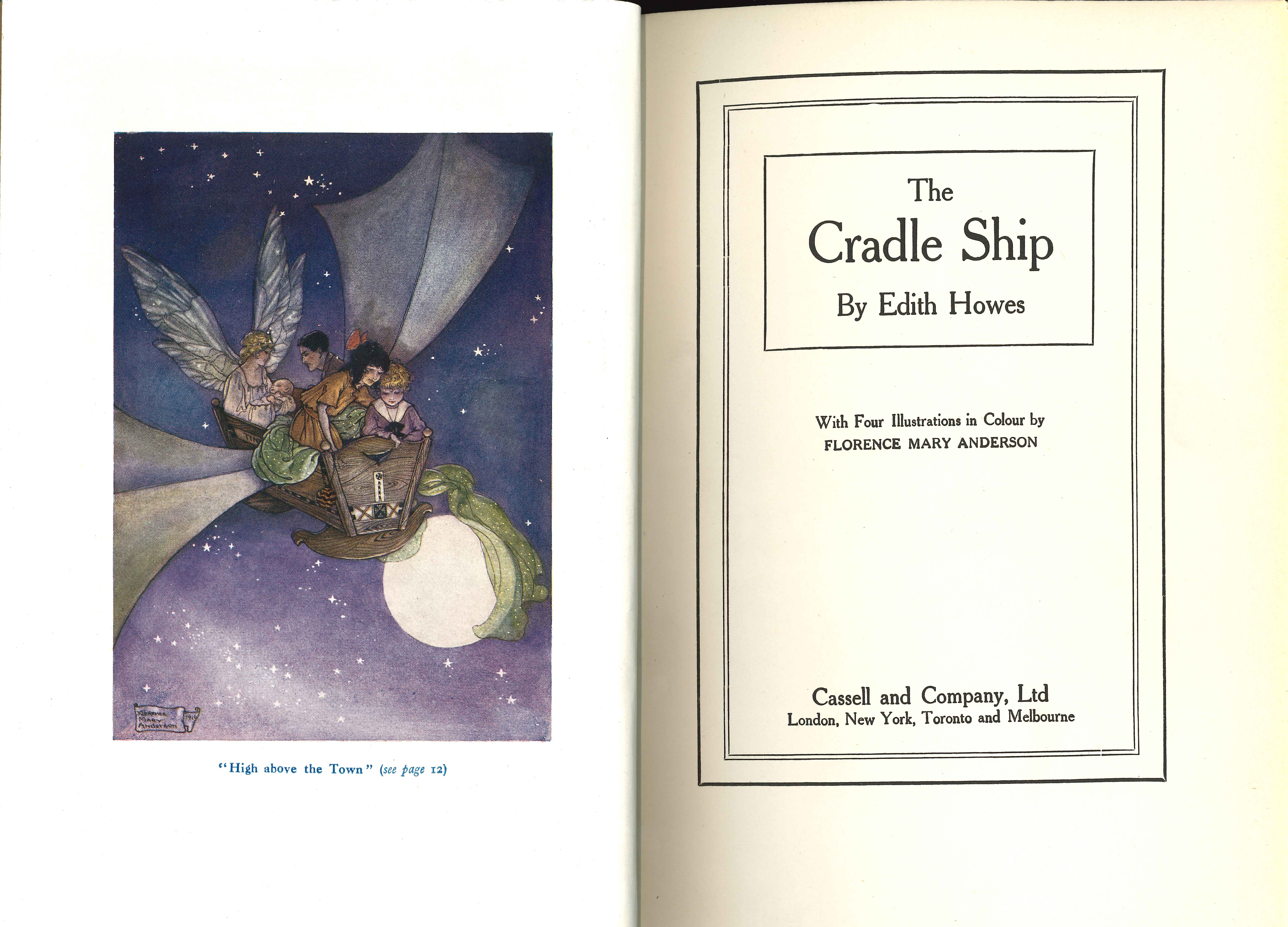 Edith Howes. The cradle ship. London: Cassell and Company, [1916?]