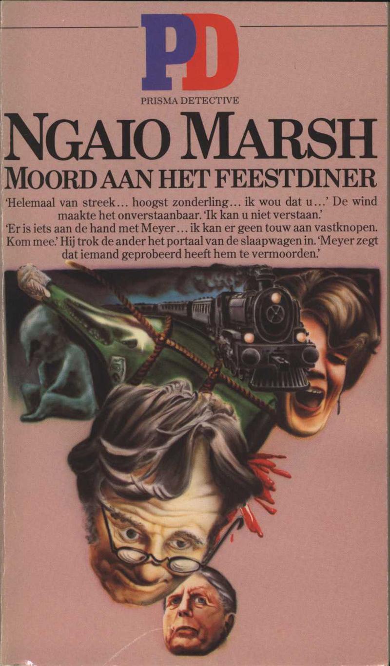 Marsh, N. Moord aan het Feestdiner (Vintage Murder). Utrecht: Uitgeverij Het Spectrum, 1964