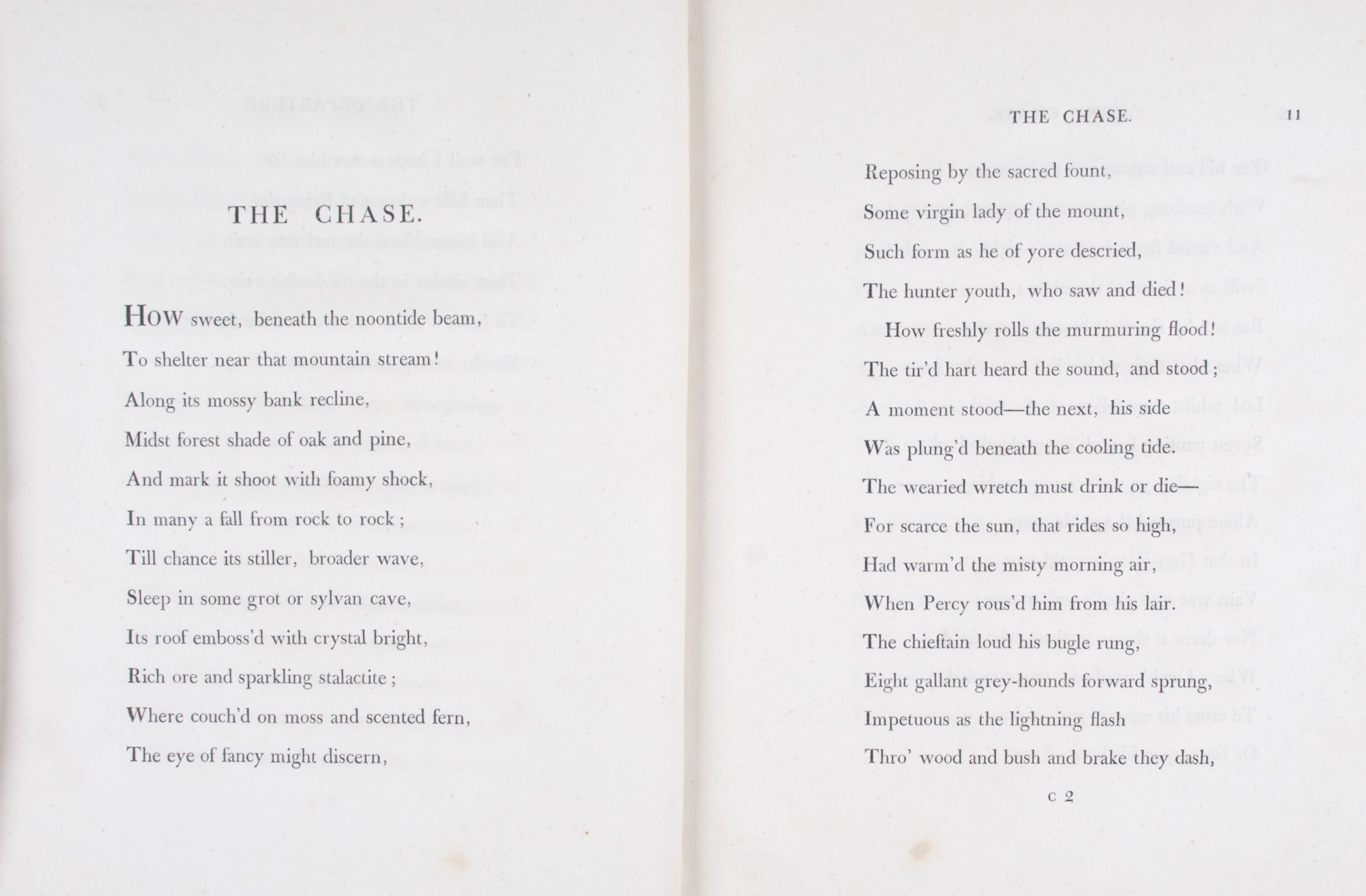 Robert Roscoe. Chevy Chase: a poem founded on the ancient ballad. London: T. Cadell and W. Davies, 1813.