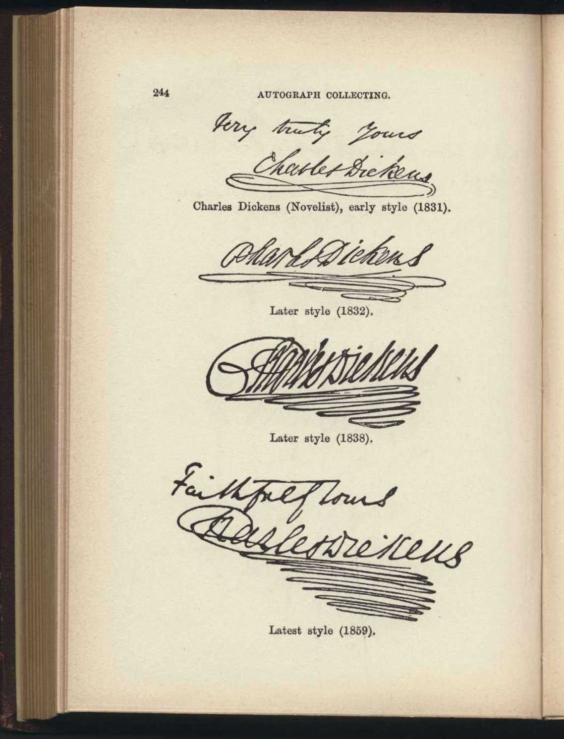 Henry T. Scott. Autograph collecting: a practical manual for amateurs and historical students. London: L. Upcott Gill, 1894.