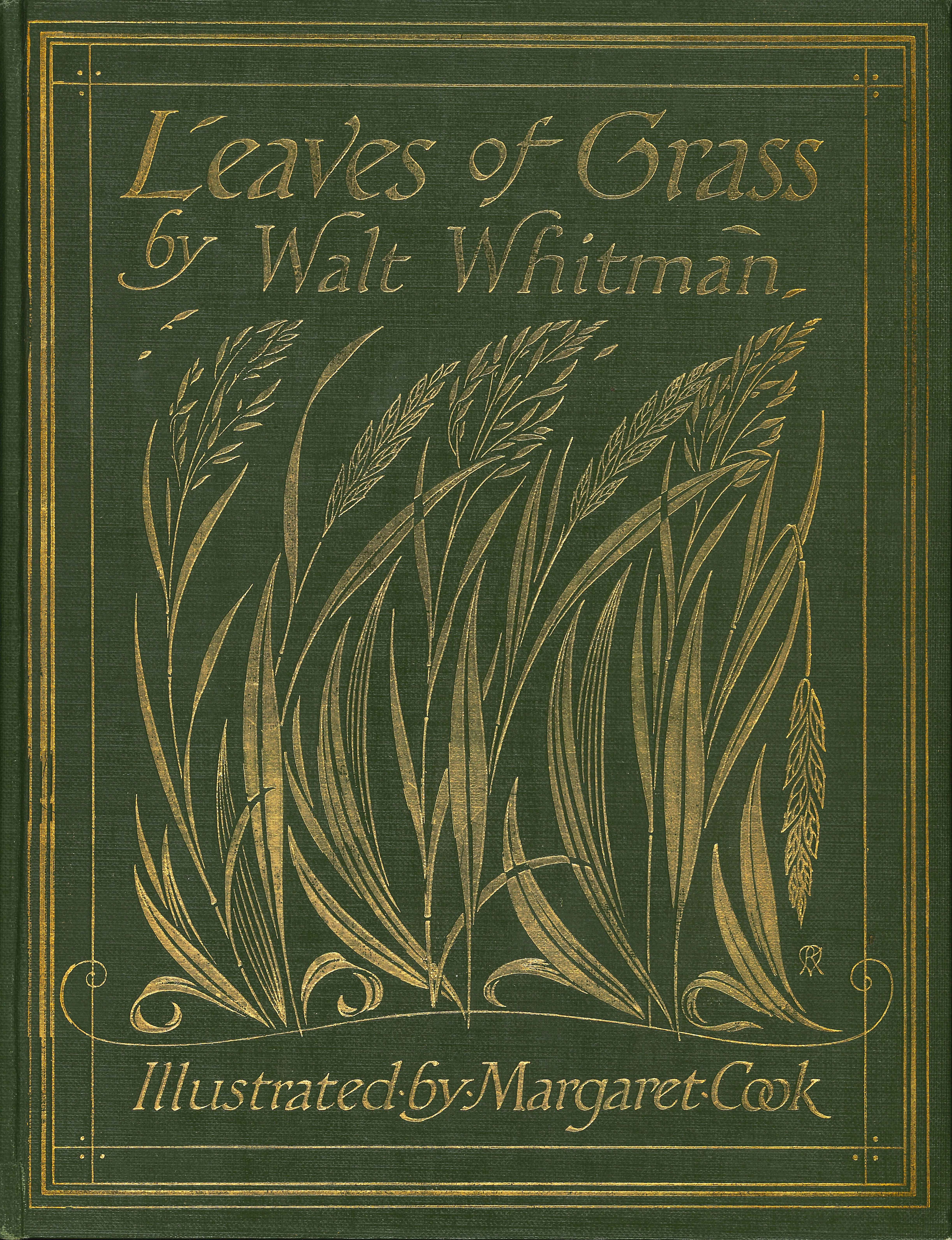 Walt Whitman. Poems from Leaves of Grass. Illustrations by Margaret C. Cook. London: J.M. Dent; New York: E.P. Dutton & Co., 1913.