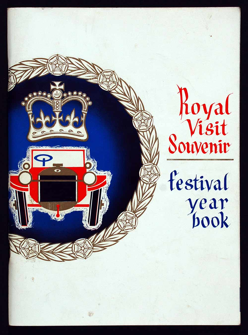 Royal visit souvenir; festival year book. Dunedin: John McIndoe and Otago Daily Times & Witness Newspapers Co. Ltd., 1963.
