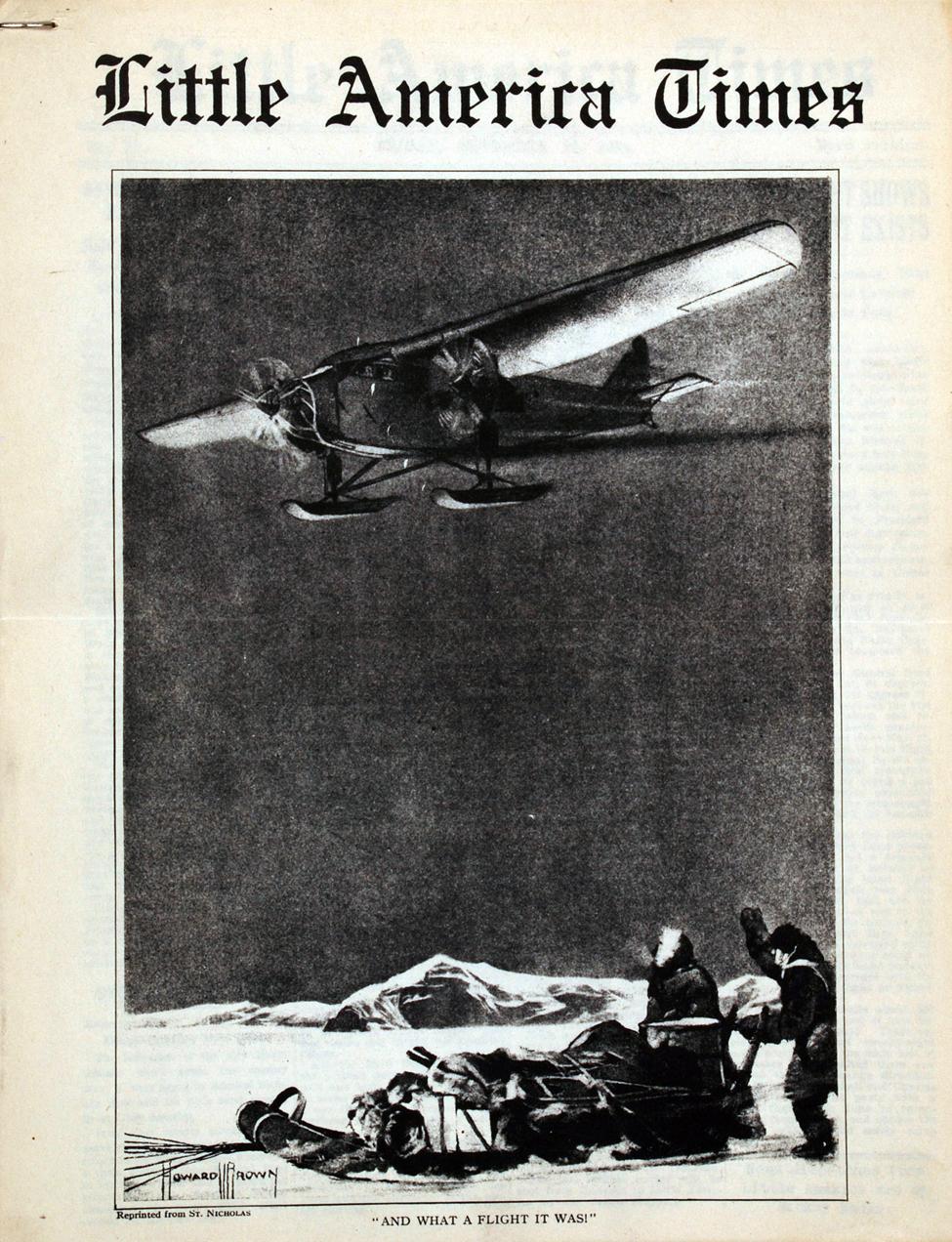 <i>Little America Times</i>. New York: August Horowitz, 30 November 1934.