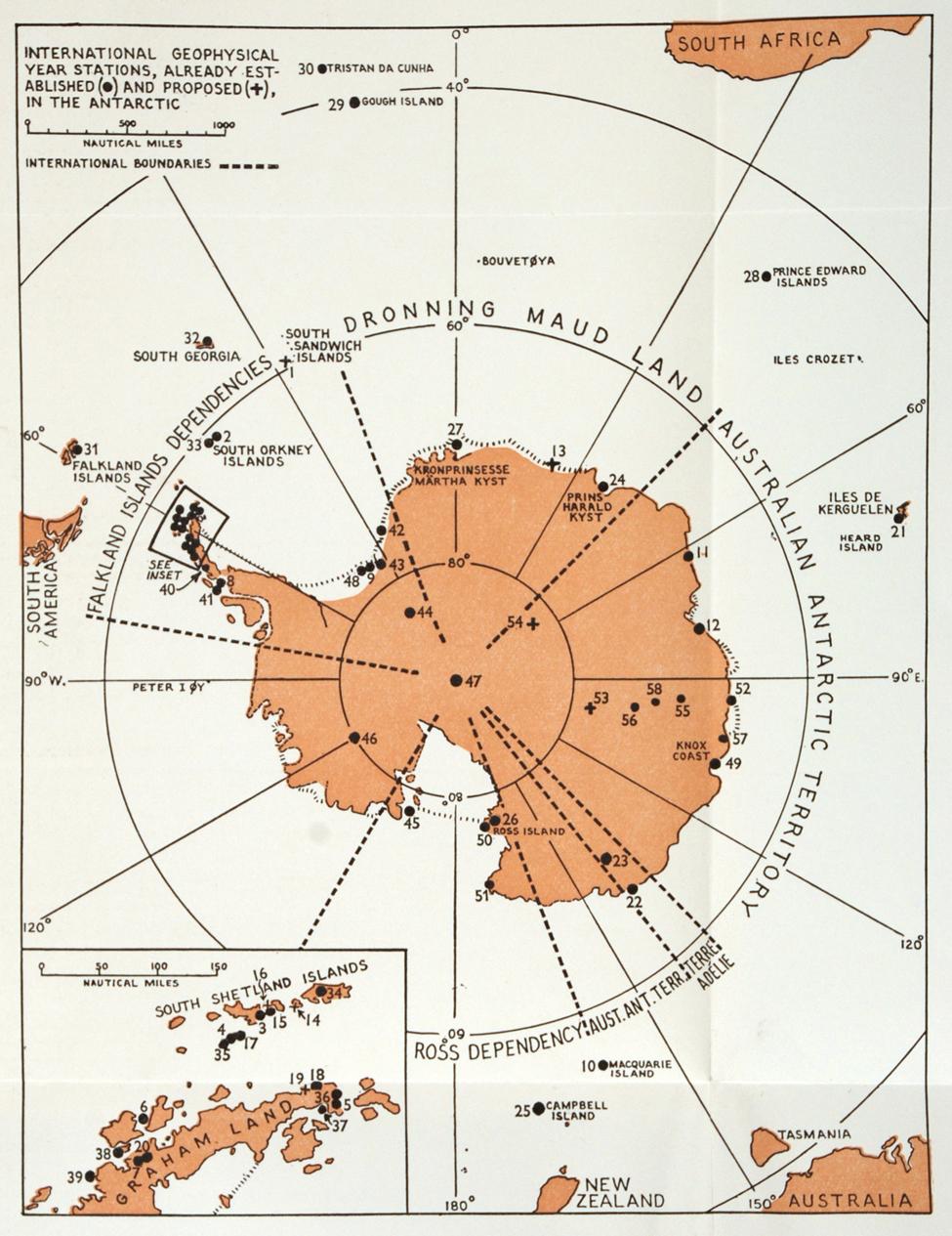 George (Colin) Bertram. <i>Antarctica Today and Tomorrow</i>. Dunedin: University of Otago, 1957.