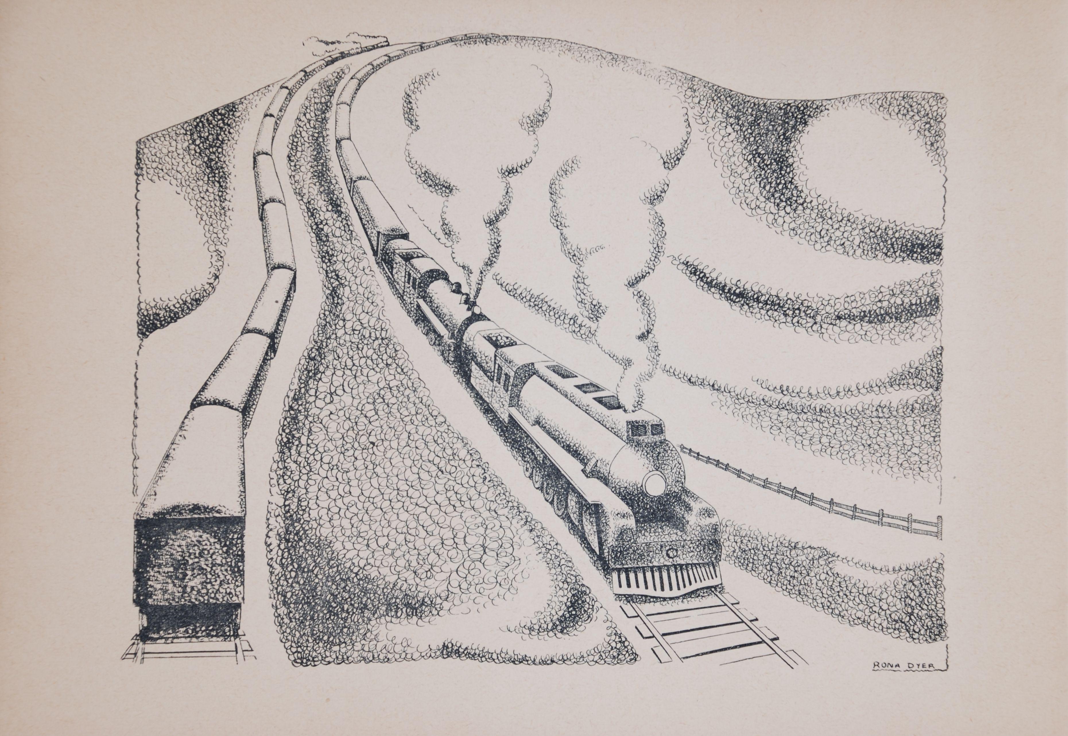 Aileen Findlay. The north bound express. Dunedin, N.Z.: Williamson Jeffery, c1944.