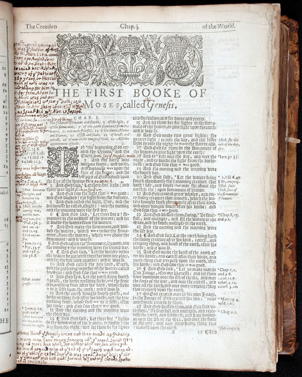 <em>The whole Byble that is the holy scripture of the Olde and Newe testament faythfully translated into Englyshe</em> ... [Zurich]: Printed for Andrewe Hester, 1550.