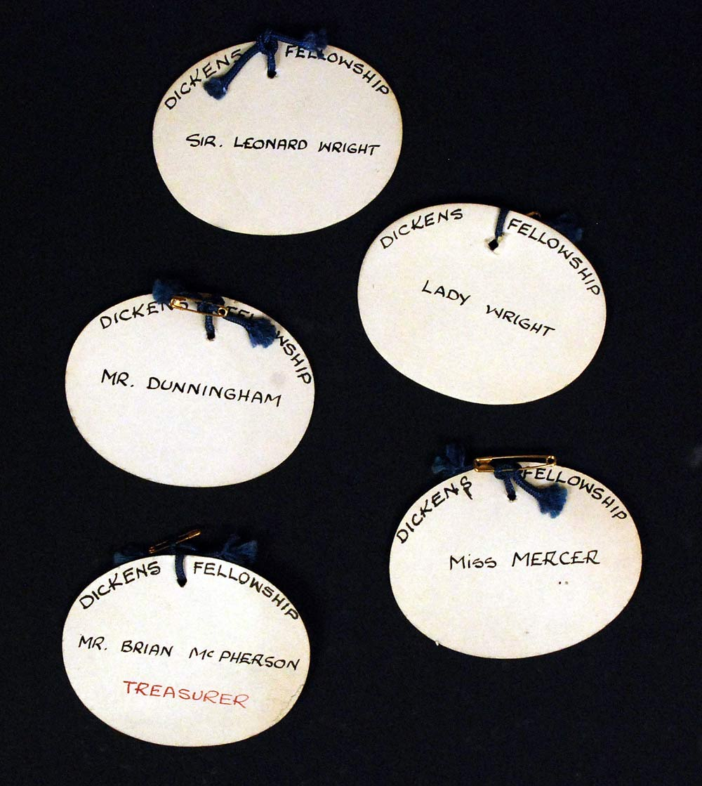 Selection of member name tags