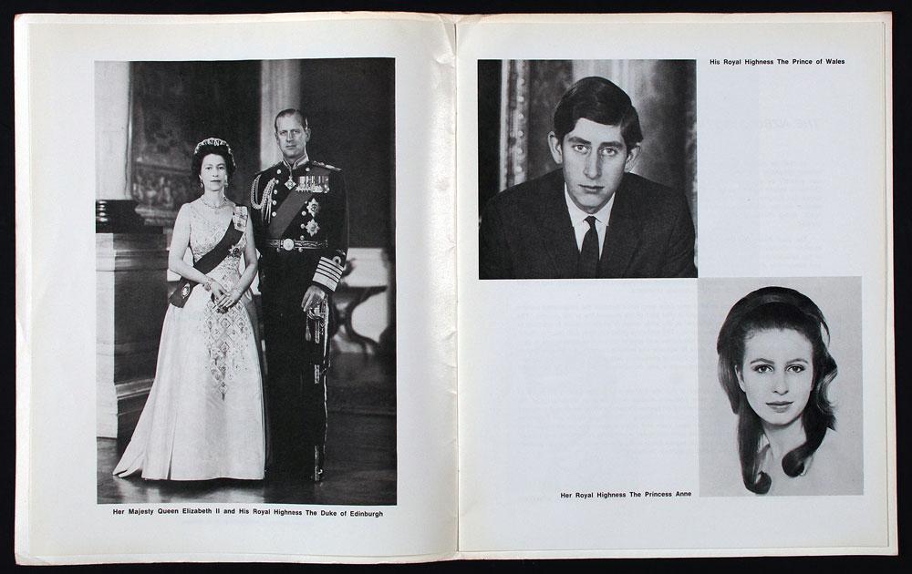 Programme. NZBC Symphony Orchestra; royal concert, Dunedin 1970. Dunedin: Printed by McKenzie Thornton Cooper Ltd., [1970].