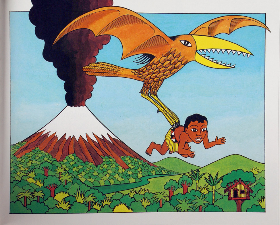 Peter Gossage. <i>Hatupatu and the Birdwoman. </i> Auckland: Heinemann Reed, 1989.