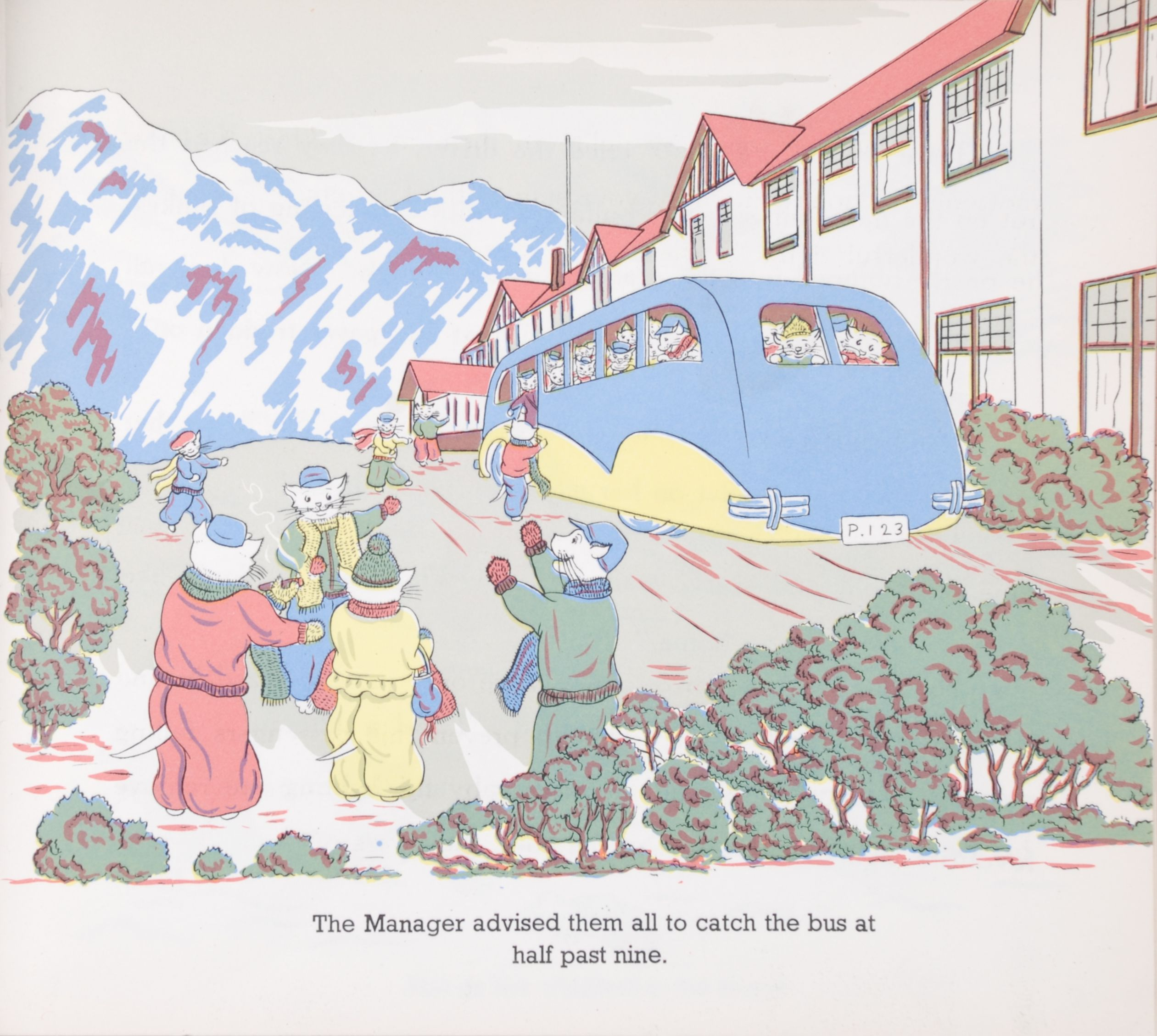 Yvonne Adams. George and Albert Snowywhiskers visit the Southern Alps. Hastings, N.Z.: Pictorial Publications, [1952].