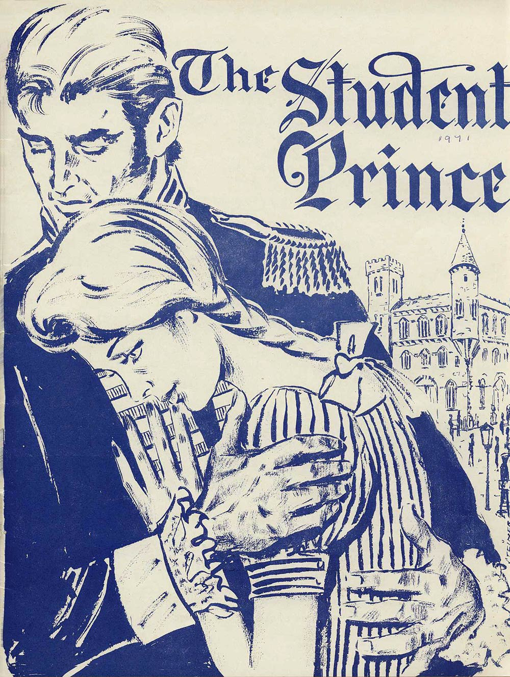 <em>The student prince</em>. Book and lyrics by Dorothy Donnelly; music by Sigmund Romberg. (Dunedin Operatic & Dramatic Society). His Majesty's Theatre, Dunedin, June 19-26, 1971.