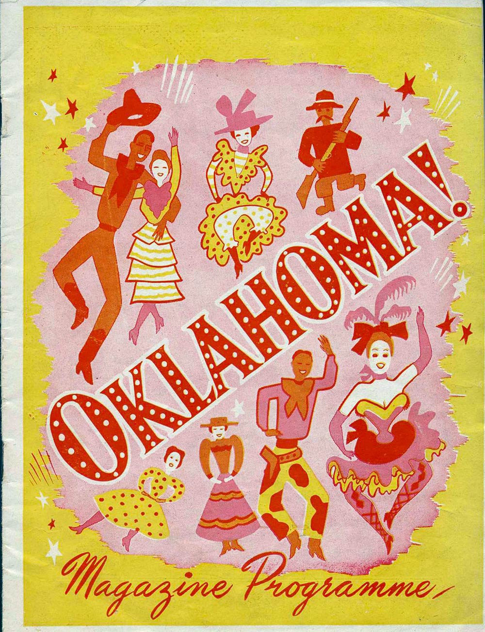 <em>Oklahoma</em>. Book and lyrics by Oscar Hammerstein II; music by Richard Rodgers. (J.C. Williamson Theatres Ltd.). His Majesty's Theatre, Dunedin, Sept. 5, 1950.