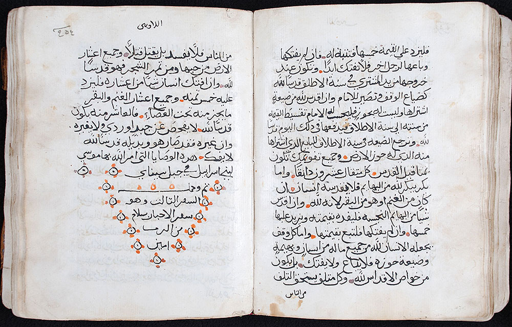 [Pentateuch in Arabic]. Kitab al-Tawrah, Arabic. [Egypt?], early eighteenth century.