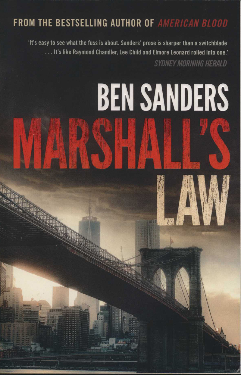 Sanders, B. Marshall's Law. Sydney: Allen & Unwin, 2017