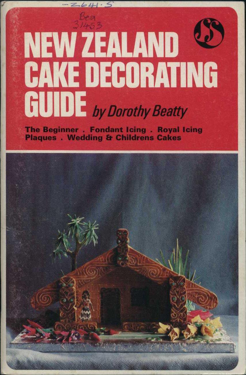 Dorothy Beatty. New Zealand cake decorating guide. Wellington: Sevenseas, 1974.